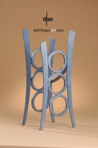 Blue Aqua-Mild Steel-dpEtlingerArt.com