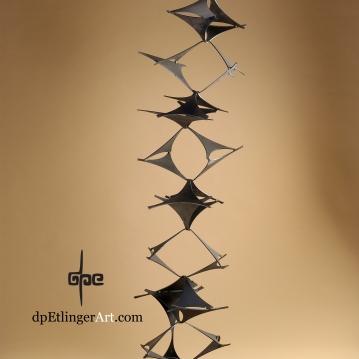 Dancing Energy-Mild Steel-dpEtlingerArt.com
