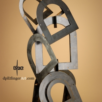 Endless Windows of Opportunity-Mild Steel-dpEtlingerArt.com