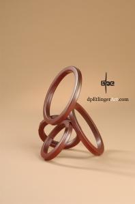 Sitting Rings-Mild Steel-dpEtlingerArt.com