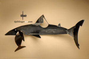 The Hunter & the Hunted-Mild Steel-dpEtlingerArt.com
