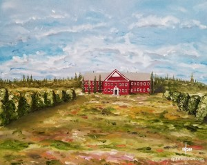 "Hire Education-Oil on Canvas-16""x20""--dpEtlingerArt.com"