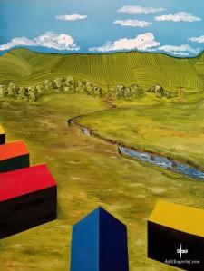 """Juxtaposition-OIl on Canvas-30""""x40""""--dpetlingerart.com"""